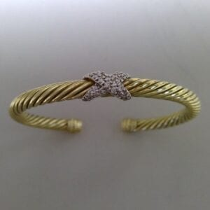 Yurman bangle
