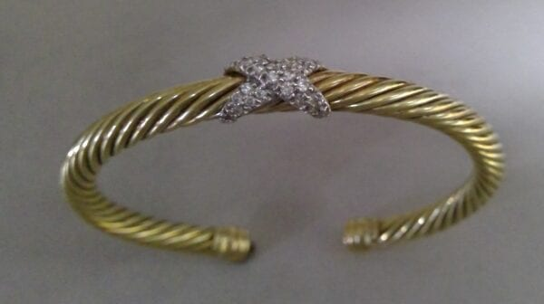 yurman diamond bangle