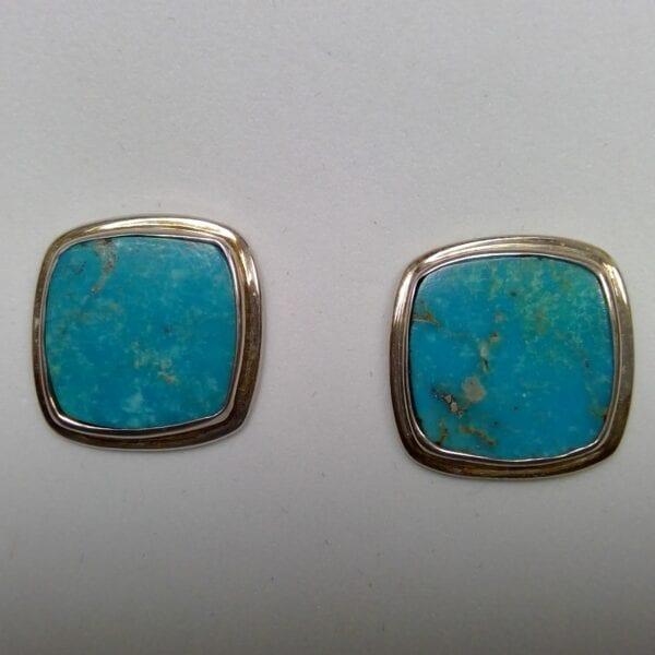 turquoise cufflinks